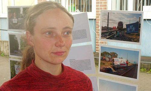 Will Machtstrukturen überwinden: Aktivistin <b>Hanna Poddig</b>, Foto: Ulrich ... - Hanna_Poddig_-_Foto_Ulrich_Schroder